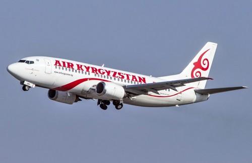 самолет air kyrgyzstan